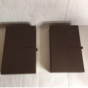 Louis Vuitton Empty Gift Boxes